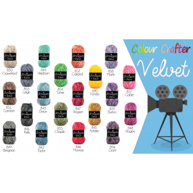 Colour Crafter VELVET 845 Astaire