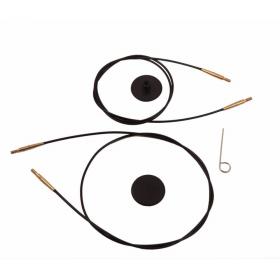 80cm - Cable per a agulles circulars de 80cm