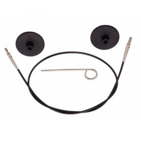 100cm - Kabel für 100 cm Rundstrichnadeln