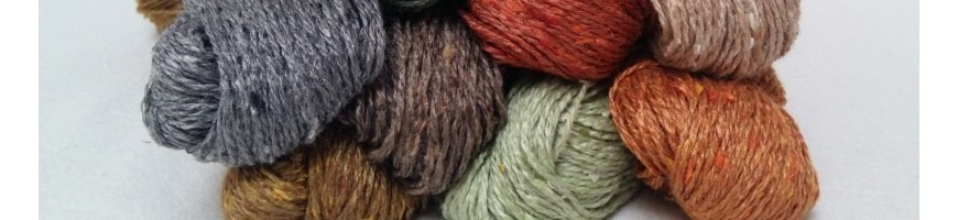 Yarns by composition