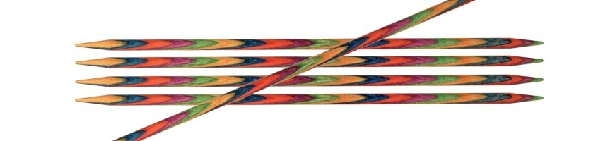 Agulles de doble punta de 10 cm