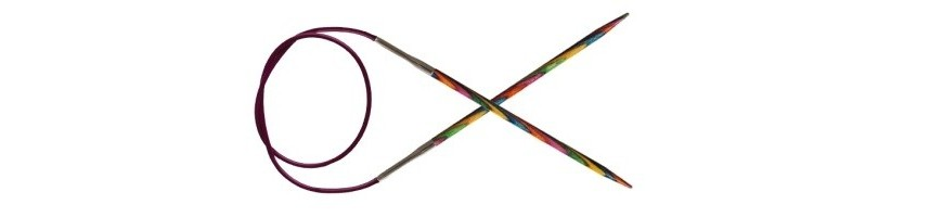 80 cm - Agulles circulars fixes Symfonie Wood