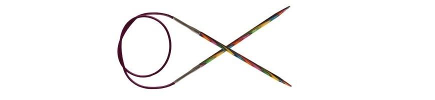 60 cm - Agulles circulars fixes Symfonie Wood